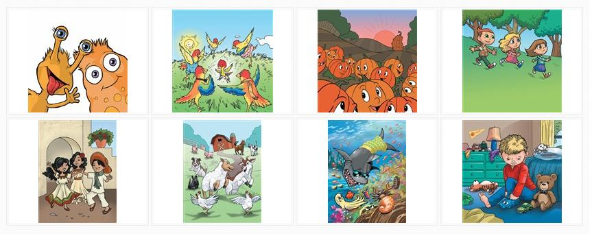 View the Cartoon Sample Illustrations Gallery